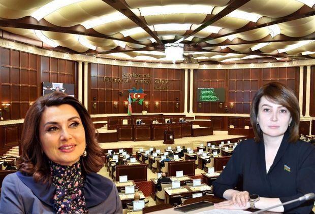 Parlament xanım deputatların adlarını səhv salan jurnalistlərə xəbərdarlıq etdi
