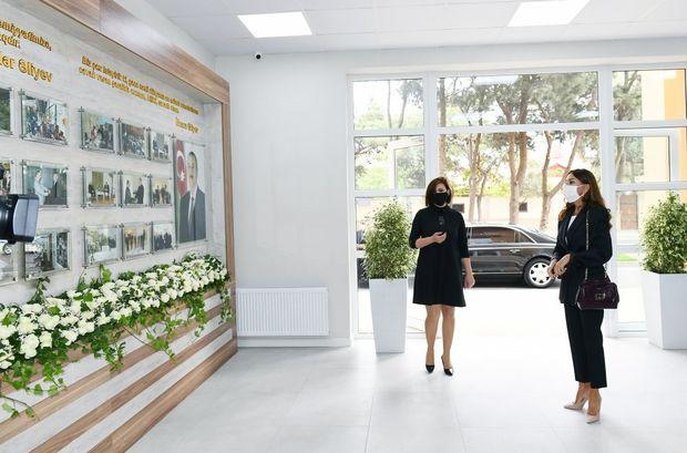 Mehriban Əliyeva Bakıda Uşaq İncəsənət Məktəbinin yeni binasının açılışında iştirak etdi - FOTO