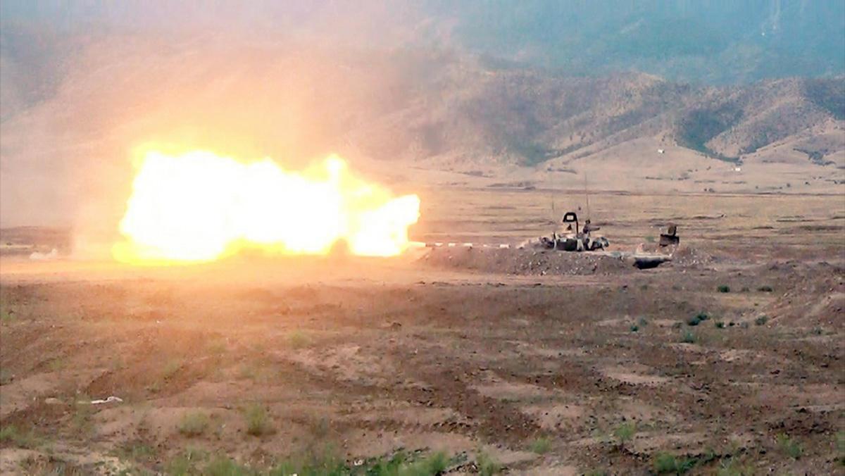"""Ermənistan ordusunun """"Martuni"""" alayı darmadağın edildi -"""