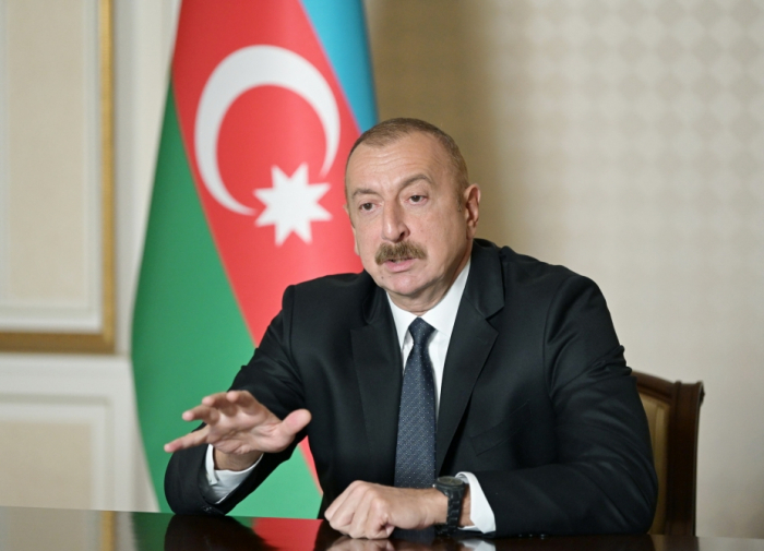 """Prezident:""""Dronlarımız 230-dan çox tankı məhv edib"""""""