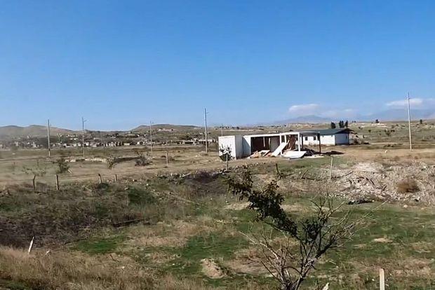 Cəbrayıl və Zəngilan rayonlarının işğaldan azad olunan kəndlərinin görüntüsü - VİDEO