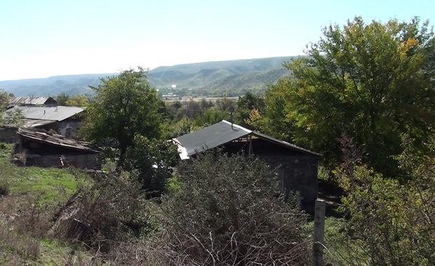 Qubadlının işğaldan azad olunan kəndlərinin görüntüsü - VİDEO