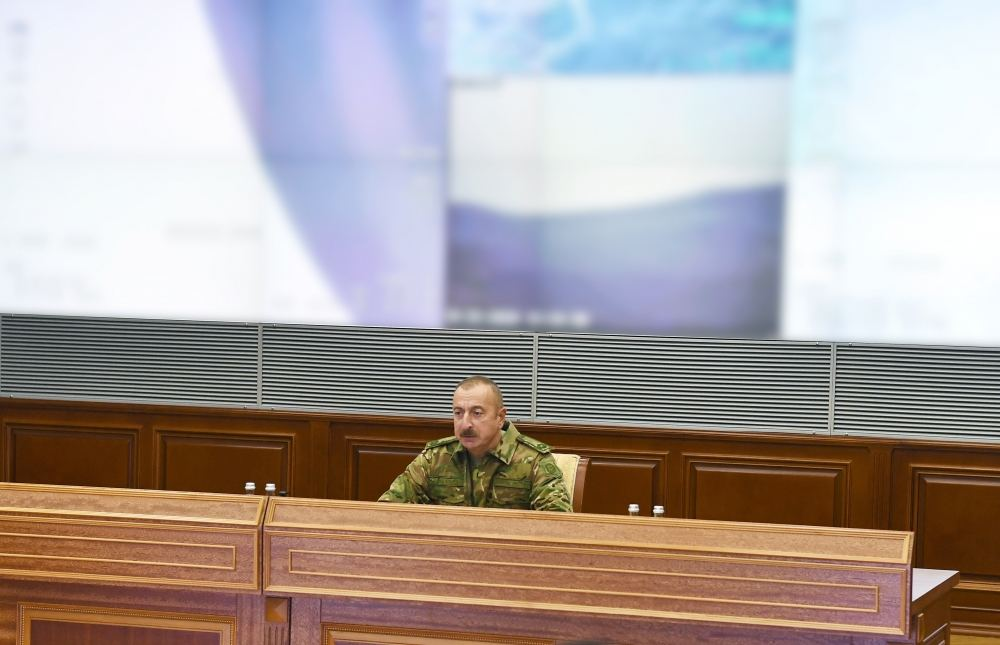 Prezident İlham Əliyev: Kəlbəcər, Qubadlı rayonlarının bir hissəsi işğalçılardan azad edilib