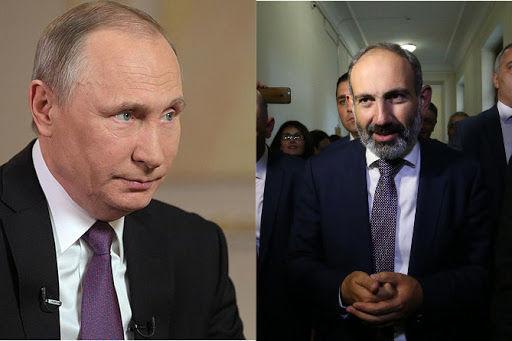 Paşinyan bir saat ərzində iki dəfə Putinə zəng etdi