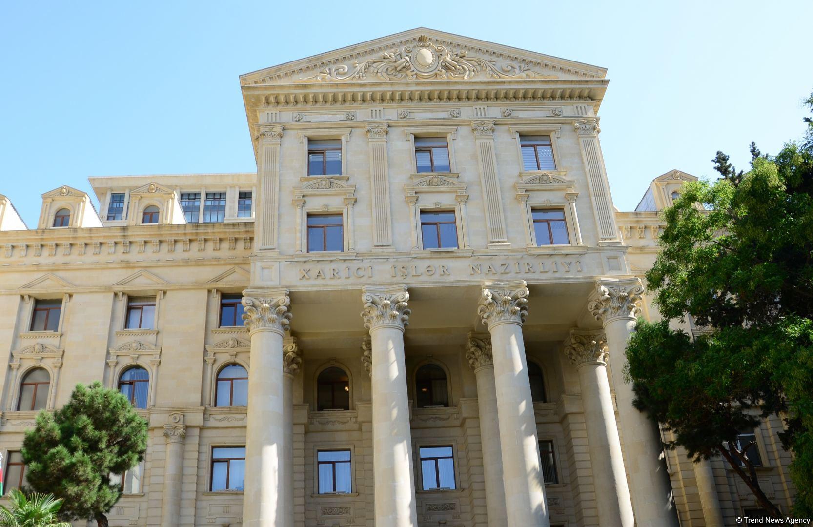 Azərbaycan Prezidenti status məsələsini tarixin zibilliyinə yollayıb - XİN-dən Avropa Parlamentinin qətnaməsinə cavab