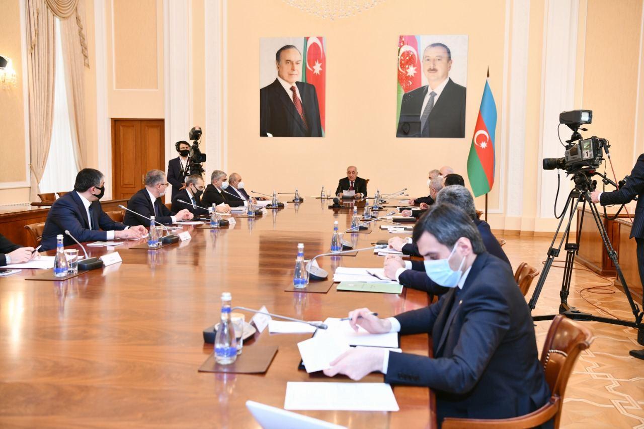 Nazirlər Kabineti Prezidentin tapşırıqları əsasında 2021-ci il üçün prioritetləri müəyyənləşdirdi