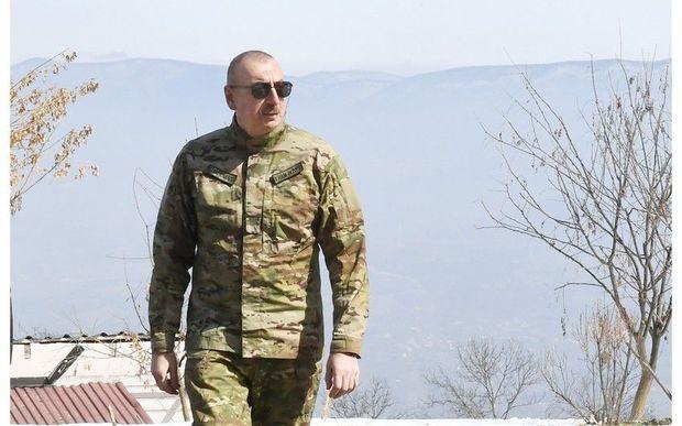 """İlham Əliyev və Mehriban Əliyeva Şuşada """"Xarıbülbül"""" festivalının açılışında iştirak ediblər - TAM MƏTN"""