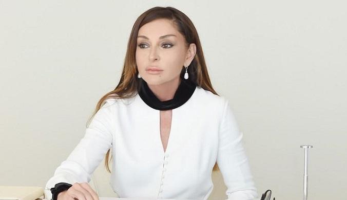 """""""Türkiyə xalqının kədəri bizim kədərimizdir""""- Mehriban Əliyeva"""