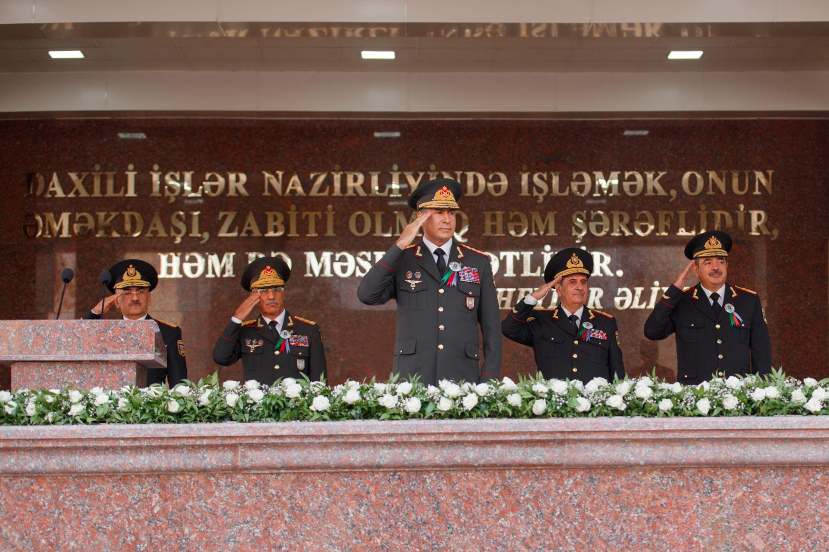 Polis Akademiyasının 100 illik yubileyi qeyd olunub