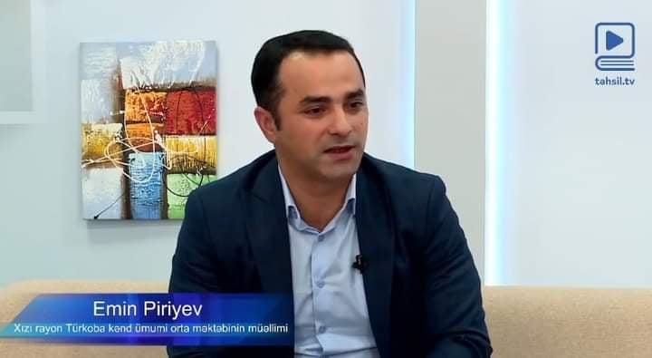 Emin Piri Təhsil Tv-nin qonağı olub